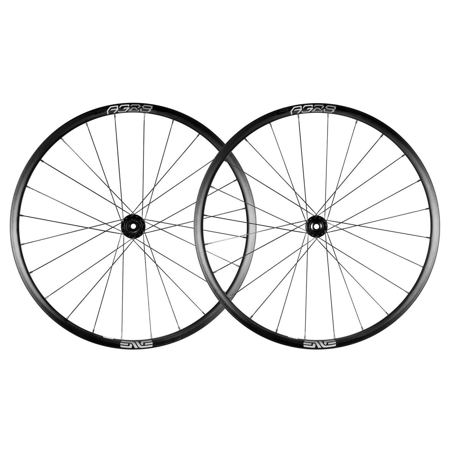 ENVE-ENVE Foundation AG28 Gravel Wheelset-Black - 650b-Industry 9 1/1 Hub - 12/142 - Shimano-EN00FAG281003116005-saddleback-elite-performance-cycling