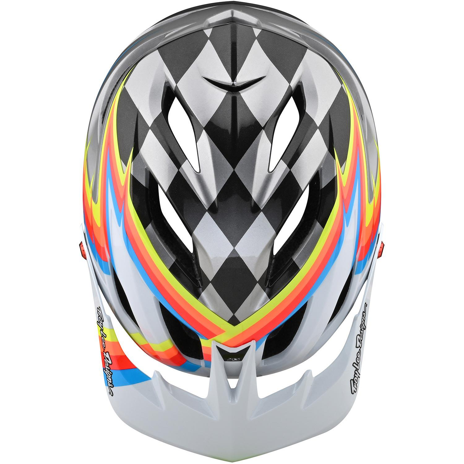 Troy Lee Designs-Troy Lee Designs A3 MIPS Helmet - Born From Paint Limited Edition--saddleback-elite-performance-cycling