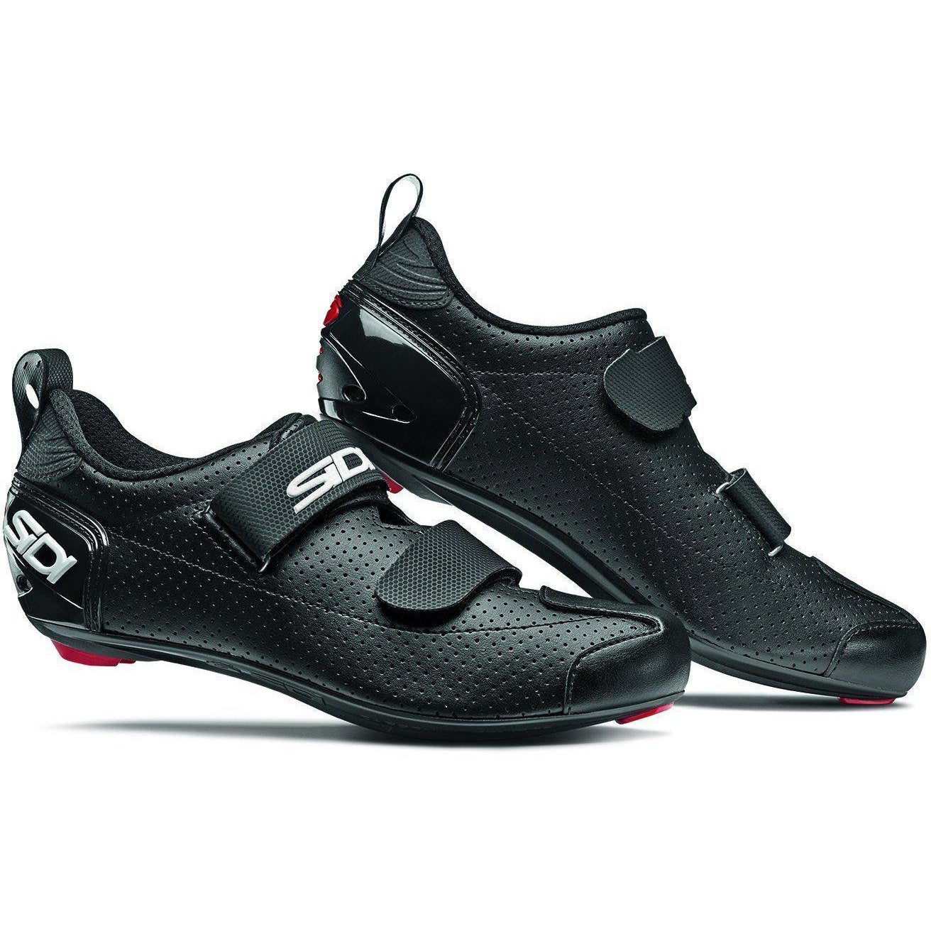 SIDI-Sidi T-5 Air Triathlon Shoes-38-Black/Black-SIT5AIRNENE38-saddleback-elite-performance-cycling