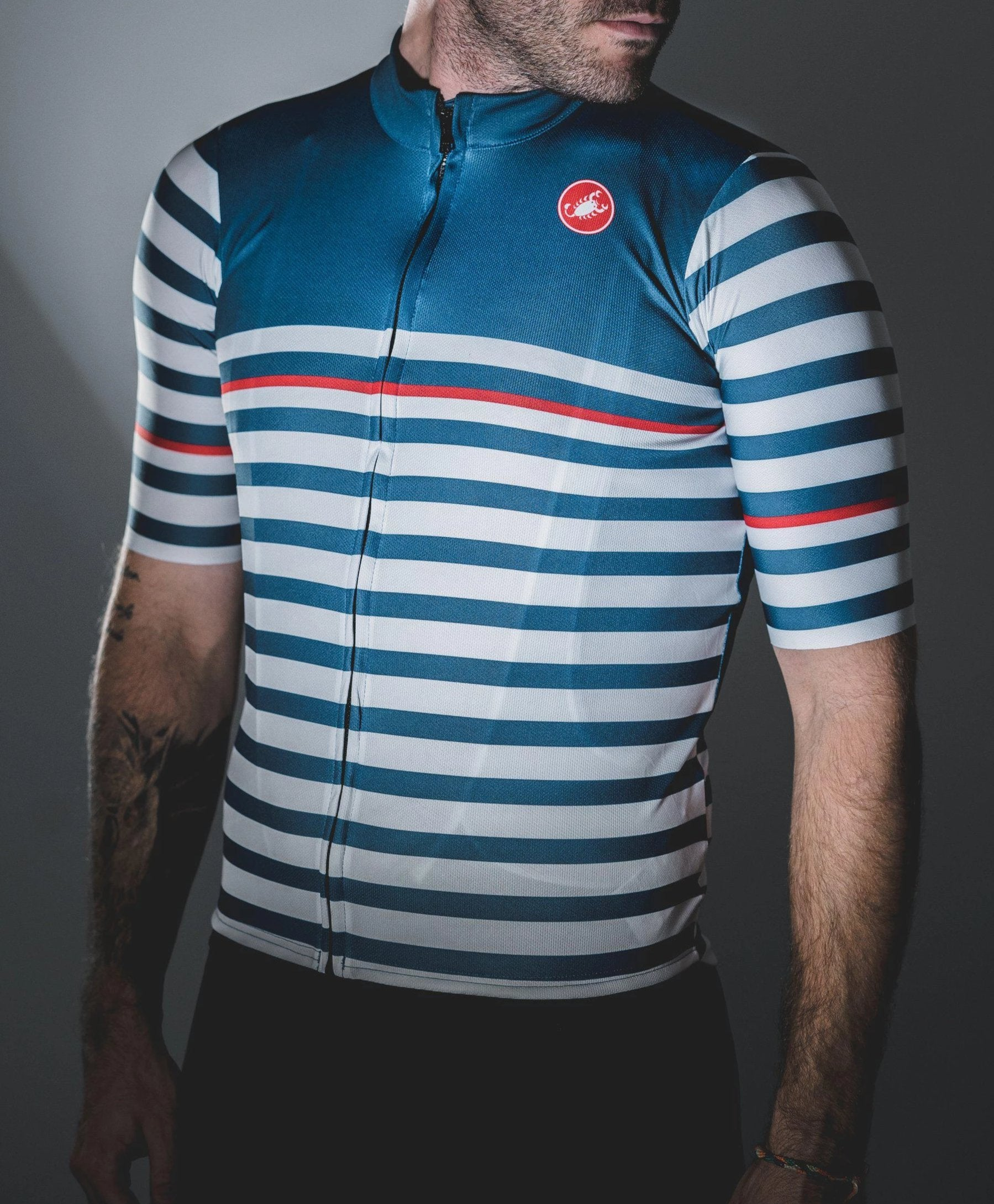 Castelli-Castelli World Champs Squadra Jersey - Sailor--saddleback-elite-performance-cycling