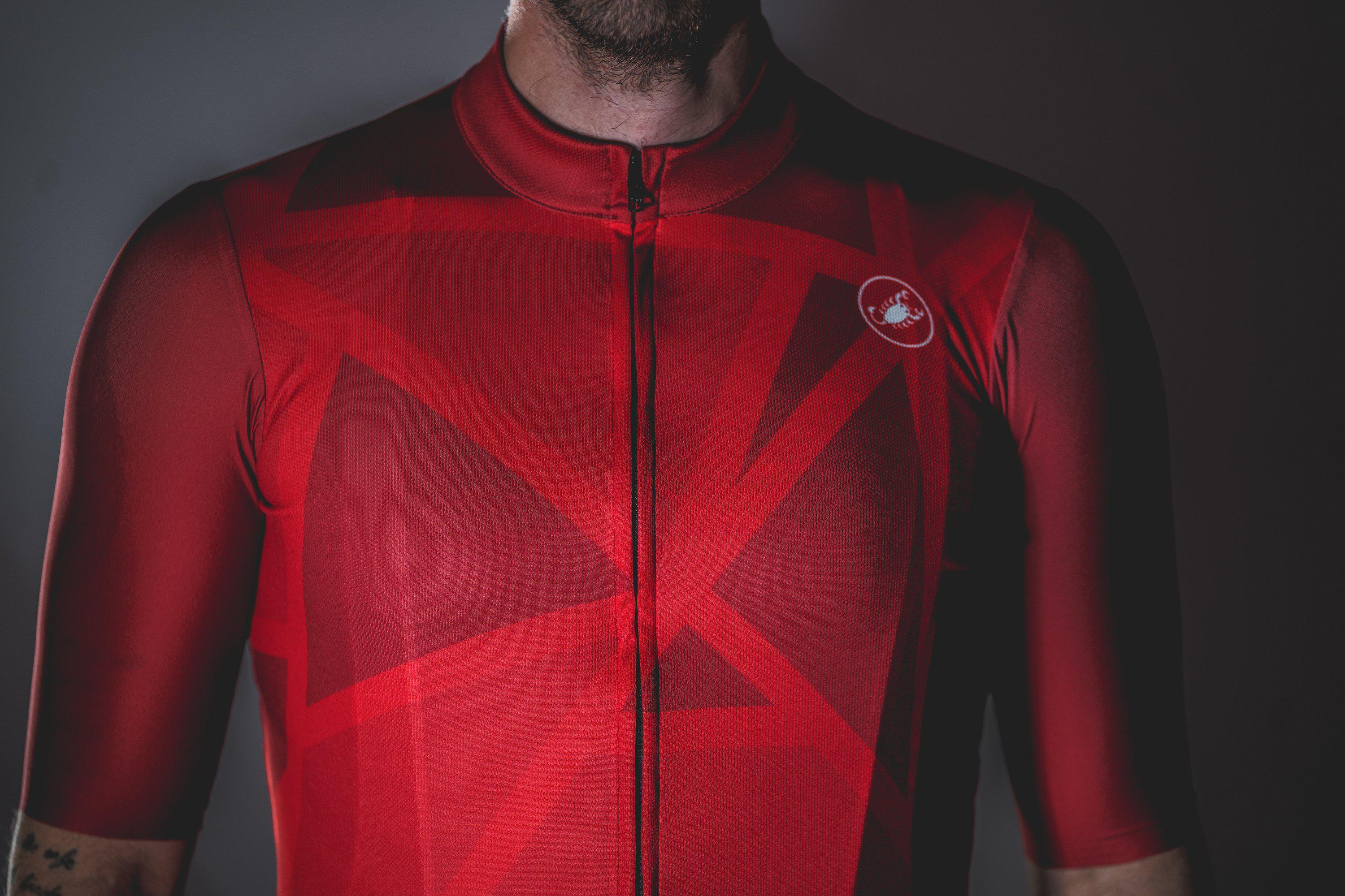 Castelli-Castelli World Champs Squadra Jersey - Pattern/Print--saddleback-elite-performance-cycling