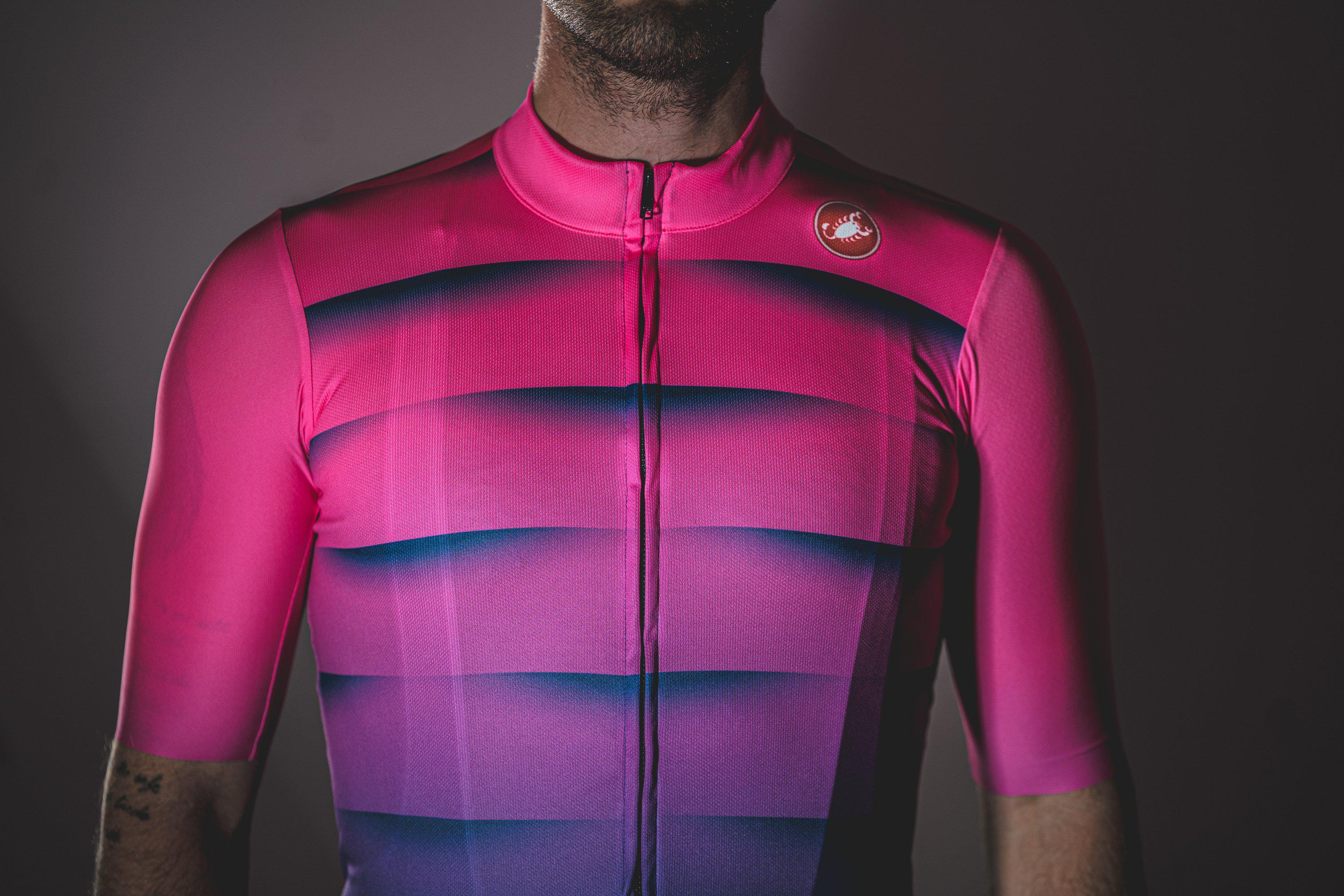 Castelli-Castelli World Champs Squadra Jersey - Neon Fade--saddleback-elite-performance-cycling
