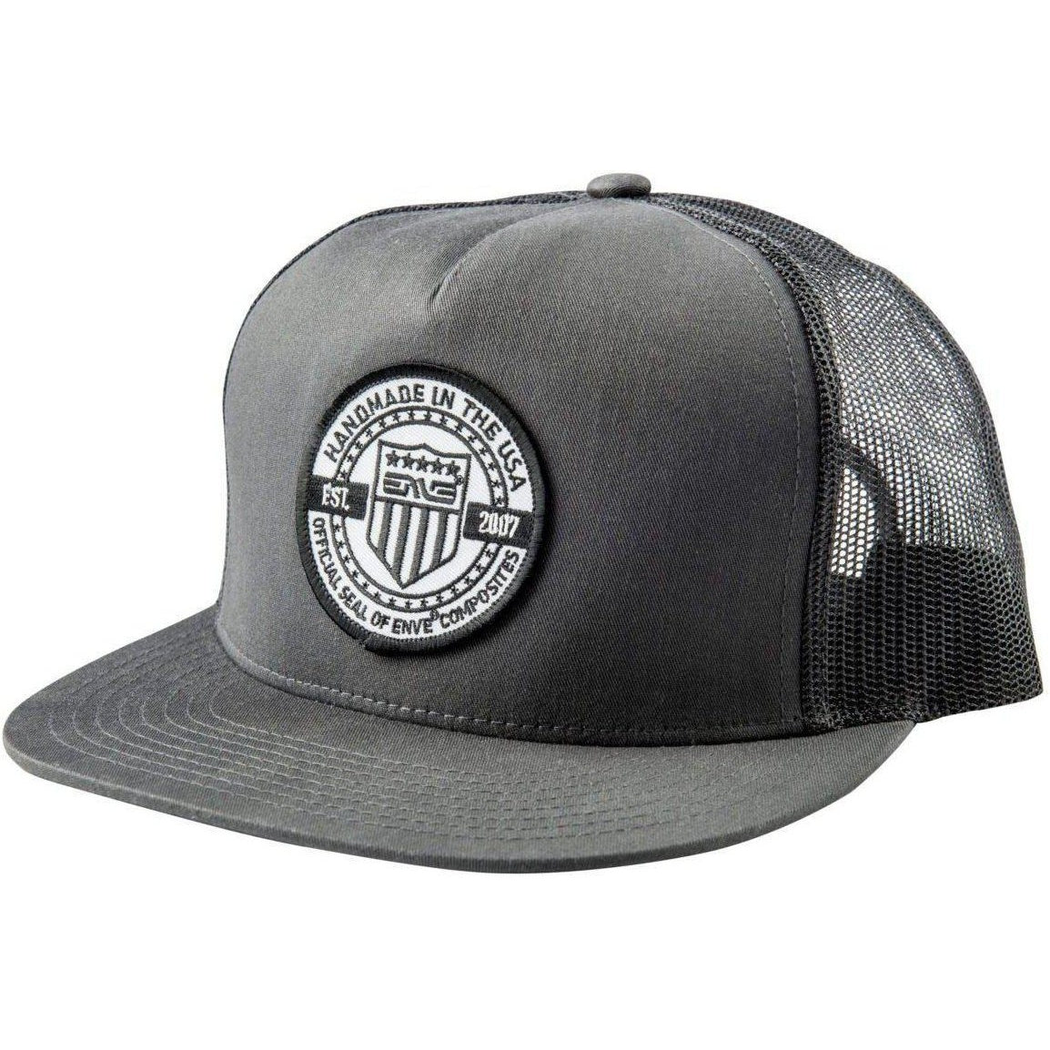 ENVE-ENVE Seal Trucker Hat-Charcoal-Uni-EN77001301-saddleback-elite-performance-cycling