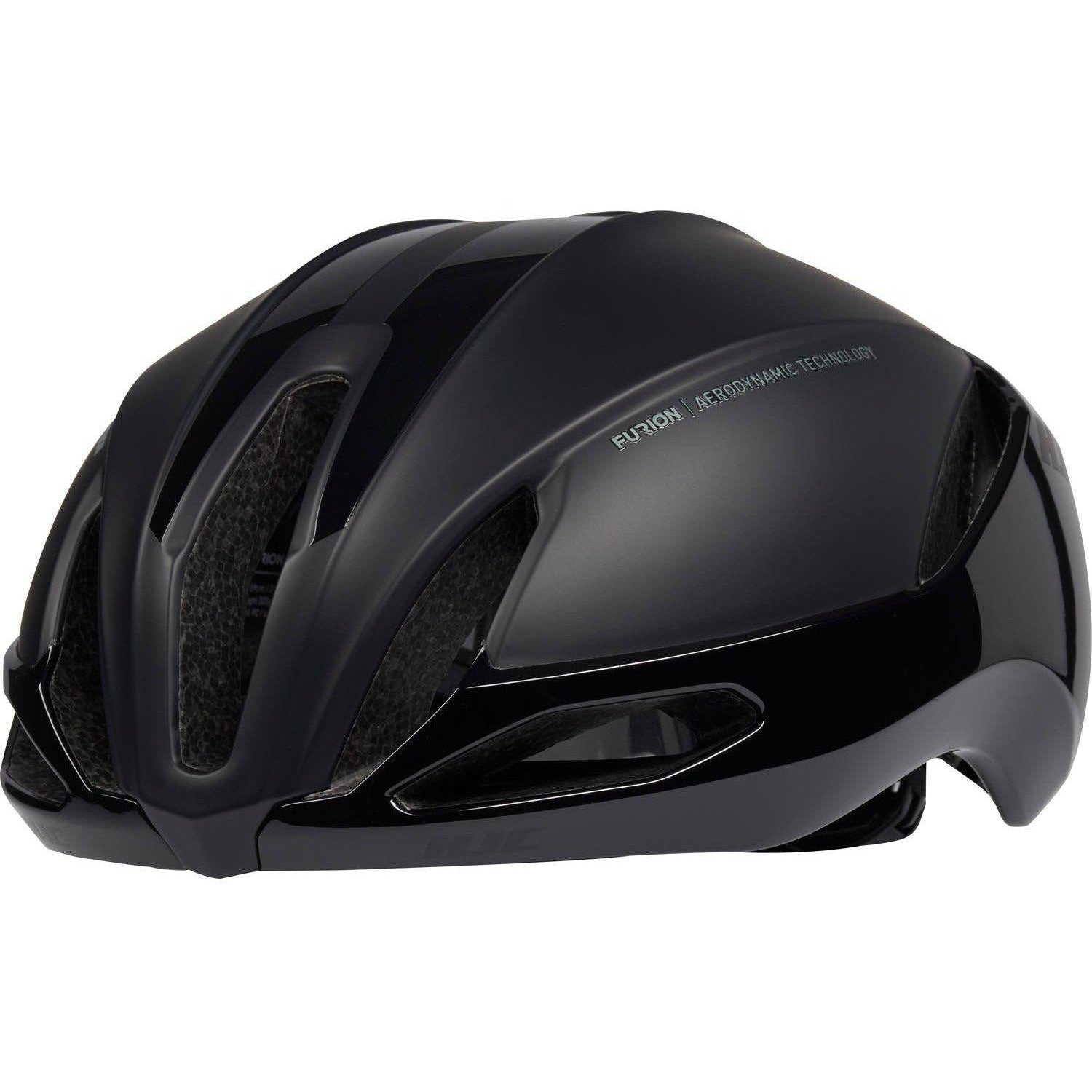HJC-HJC Furion 2.0 Road Cycling Helmet-Black-S-HJC81213101-saddleback-elite-performance-cycling