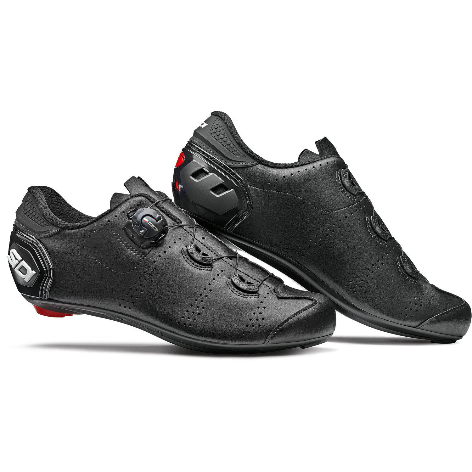 Sidi-Sidi Fast Road Shoes-Black/Black-38-SIFASTNENE38-saddleback-elite-performance-cycling