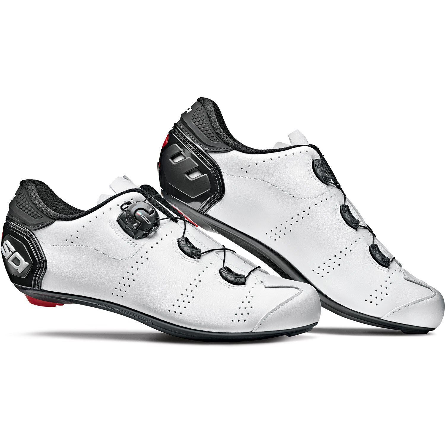 Sidi-Sidi Fast Road Shoes-White/White-38-SIFASTBIBI38-saddleback-elite-performance-cycling