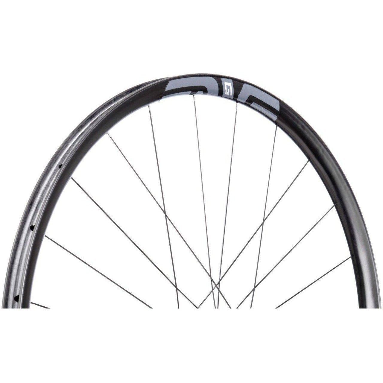 ENVE-ENVE G23 700c Gravel Wheelset - Chris King Hubs-Black/R45D/12x142Thru-Shimano-Tubeless Only-EN00G231003112005-saddleback-elite-performance-cycling