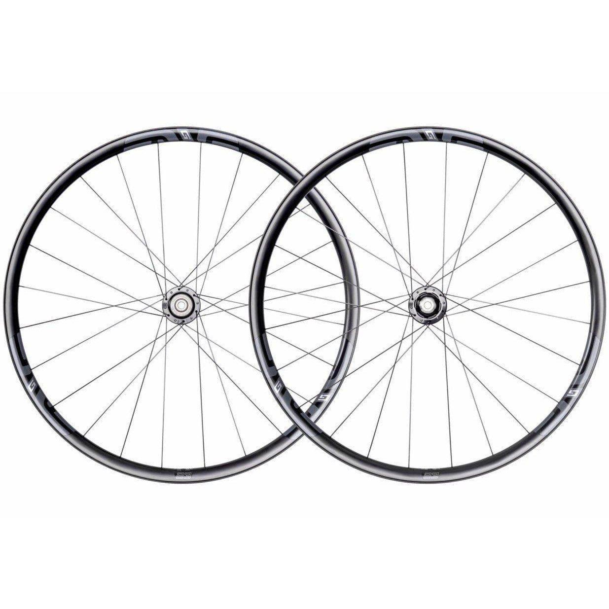 ENVE-ENVE G23 700c Gravel Wheelset-Black/R45D/12x142Thru-Shimano-EN00G231003112005-saddleback-elite-performance-cycling