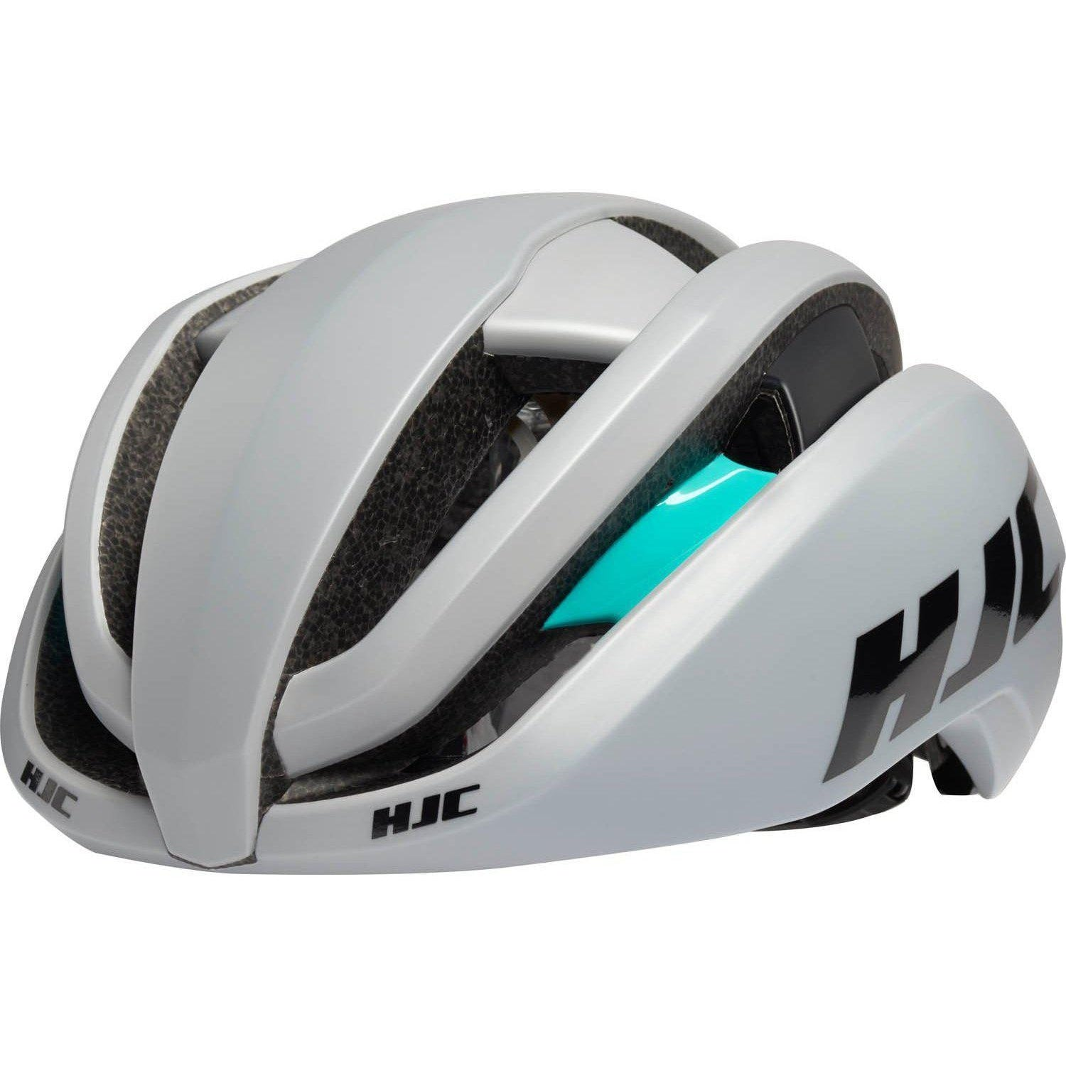 HJC-HJC Ibex 2.0 Road Cycling Helmet-Grey/Mint-S-HJC81242901-saddleback-elite-performance-cycling