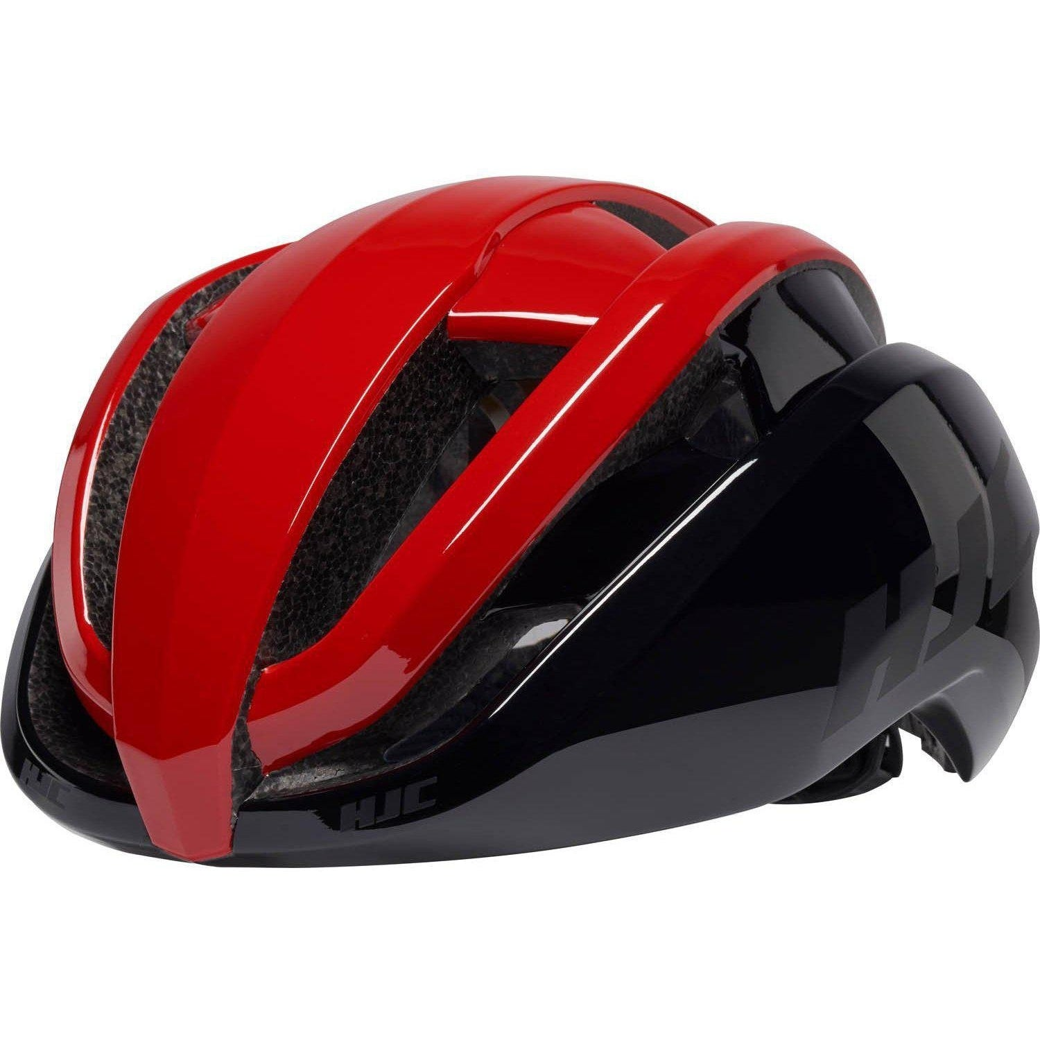 HJC-HJC Ibex 2.0 Road Cycling Helmet-Red/Black-S-HJC81240101-saddleback-elite-performance-cycling