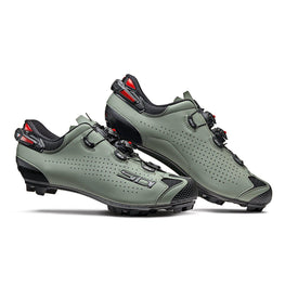 Sidi-Sidi Tiger 2 MTB Shoes-Black/Sage-48-SITIGER2NESAL48-saddleback-elite-performance-cycling