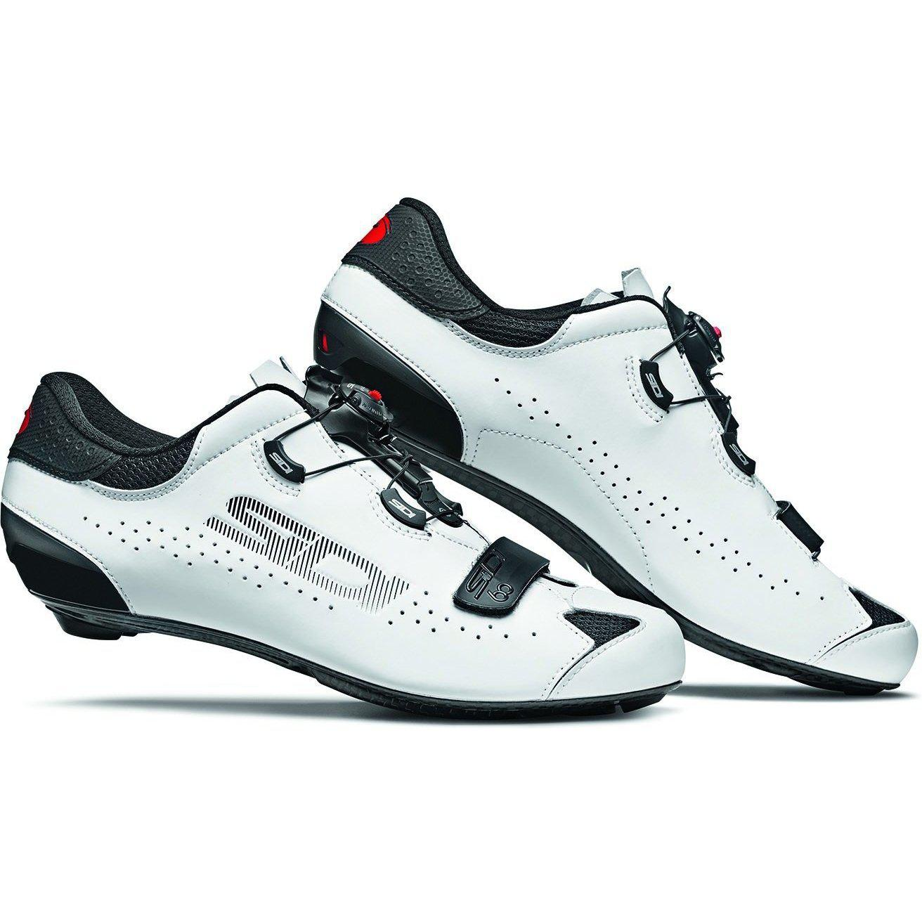 Sidi-Sidi Sixty Road Shoes-Black/White-38-SISIXTYNEBI38-saddleback-elite-performance-cycling