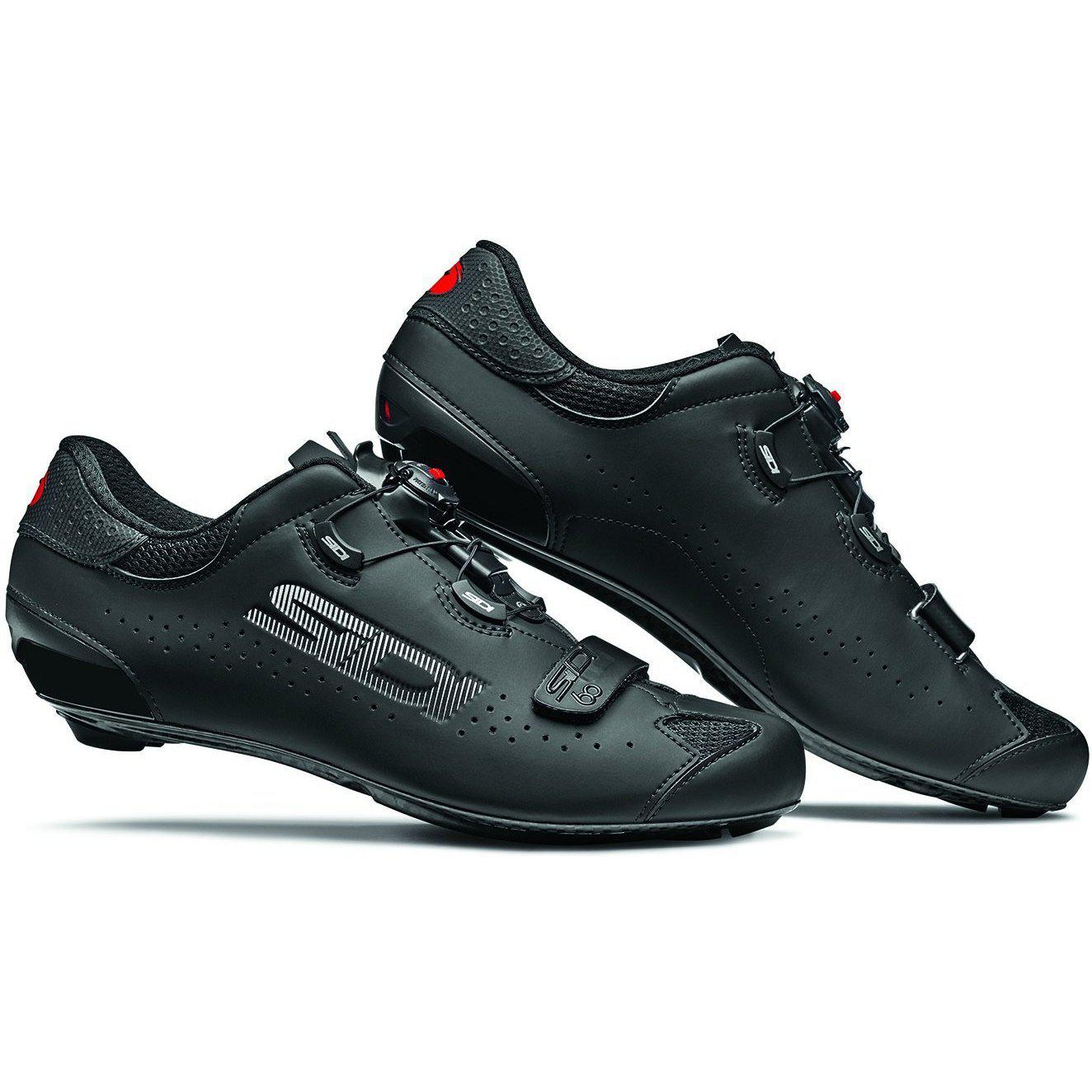Sidi-Sidi Sixty Road Shoes-Black/Black-38-SISIXTYNENE38-saddleback-elite-performance-cycling