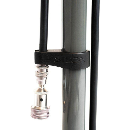 Silca-Silca Pista Plus Floor Pump-SIAMPU003ASY0100-saddleback-elite-performance-cycling