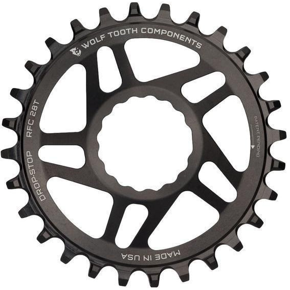 Wolf Tooth-Wolf Tooth Direct Mount Chainring for Race Face Cinch - HG+-Black-32t Boost Shimano 12 spd-WTRFC32BSTSH12-saddleback-elite-performance-cycling
