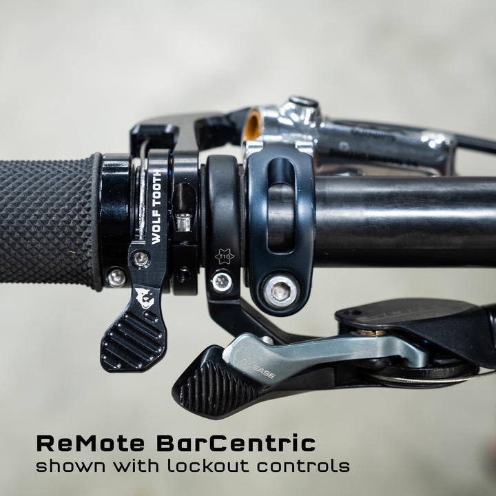 Wolf Tooth-Wolf Tooth Remote BarCentric Dropper Lever-22.2mm-Black-WTREMOTEBARCENTRIC-saddleback-elite-performance-cycling
