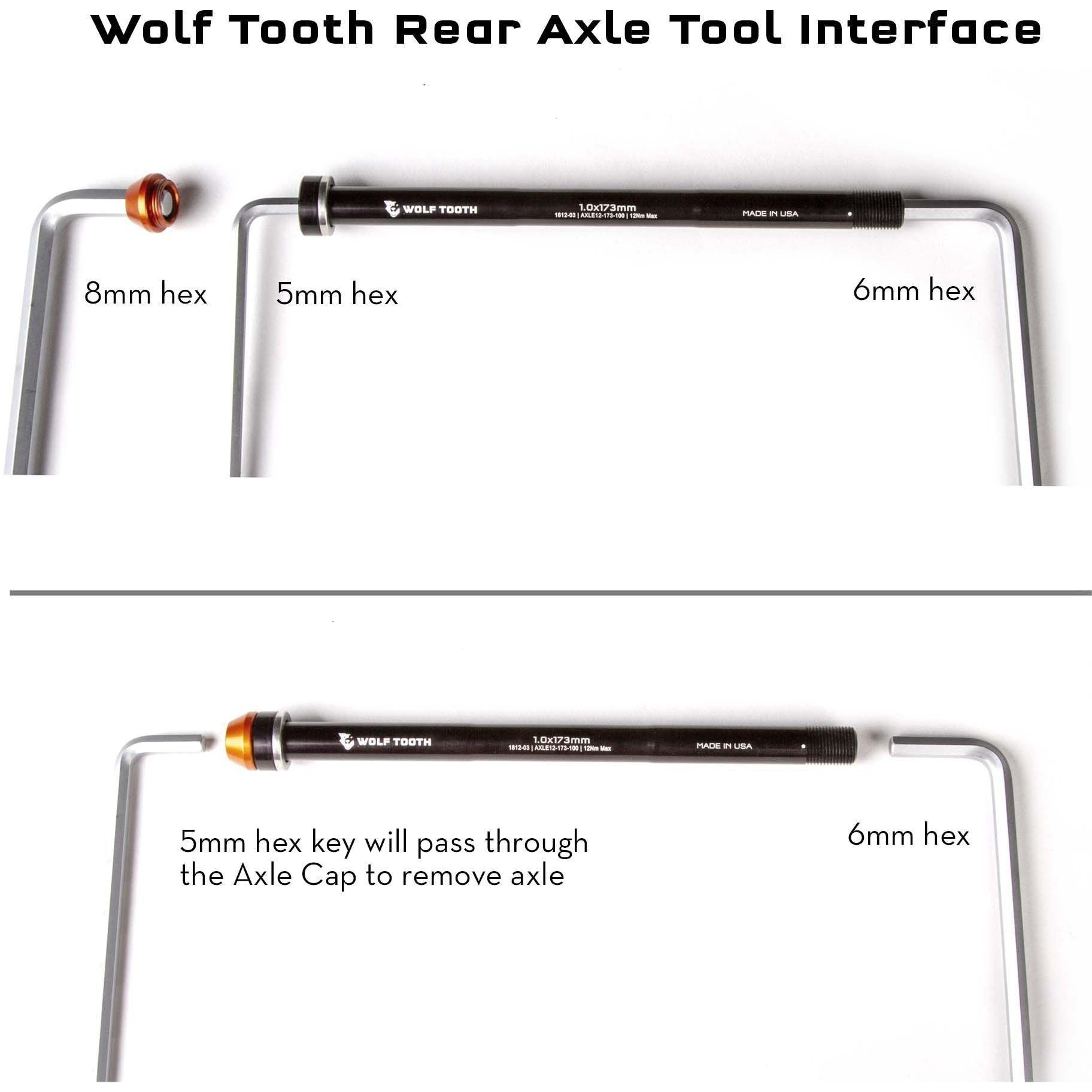 Wolf Tooth-Wolf Tooth Rear Thru Axle For X-12--saddleback-elite-performance-cycling