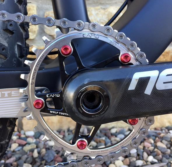 Wolf Tooth-Wolf Tooth CAMO Stainless Steel Elliptical Chainring--saddleback-elite-performance-cycling
