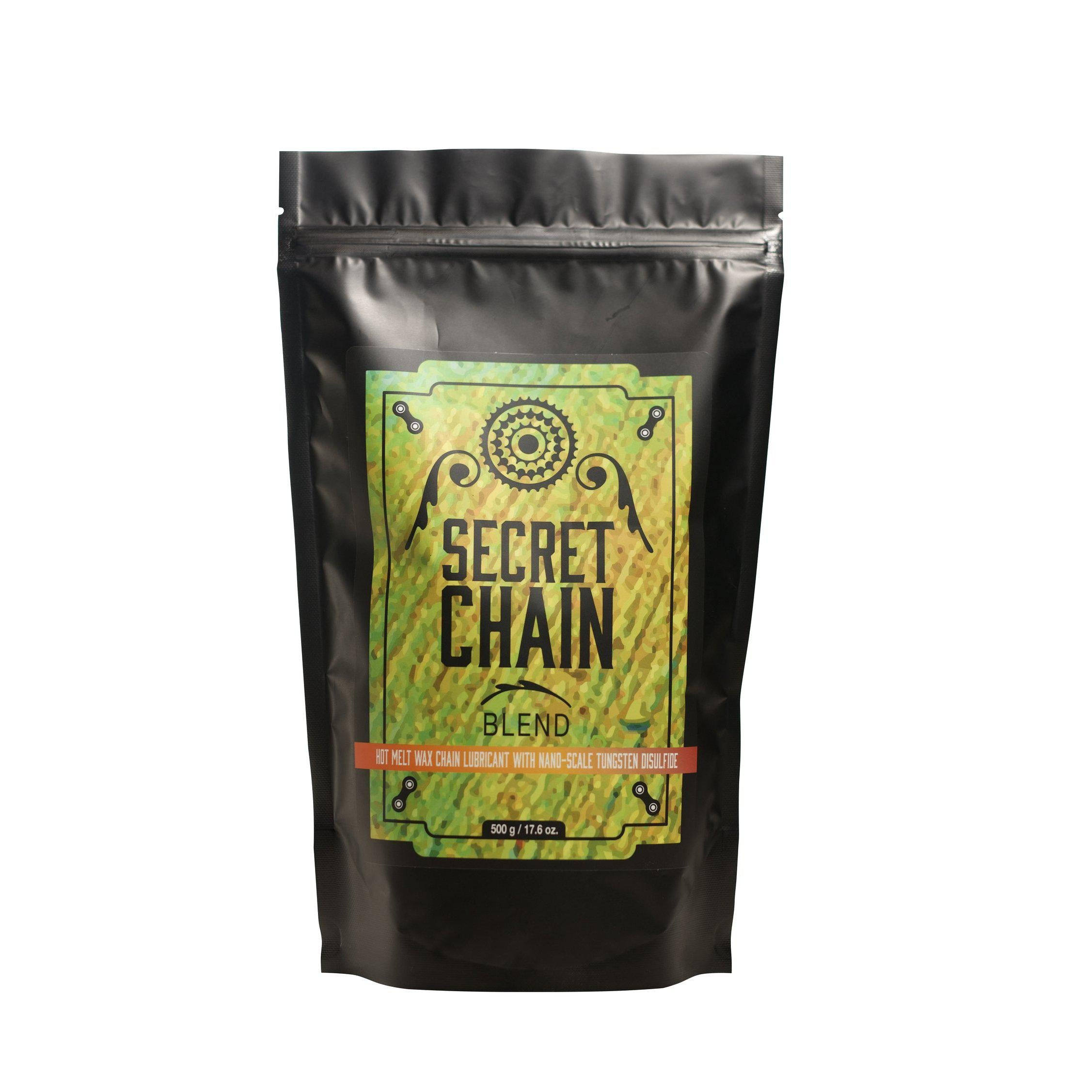 Silca-Secret Chain Blend Hot Melt Wax-Pouch-500g-SIAMAC016ASY0100-saddleback-elite-performance-cycling