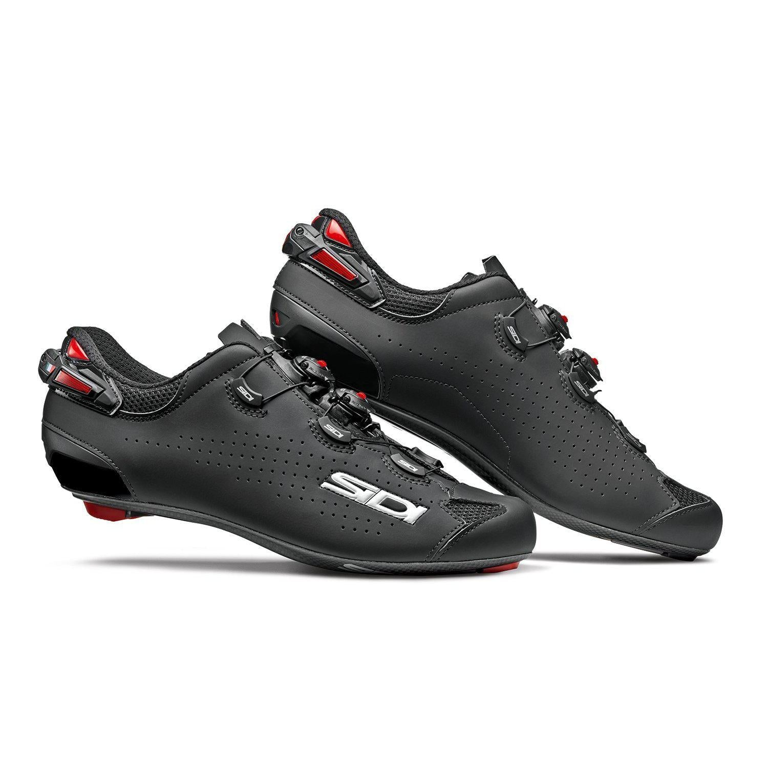 Sidi-Sidi Shot 2 Road Shoes-Black/Black-38-SISHOT2NENE38-saddleback-elite-performance-cycling
