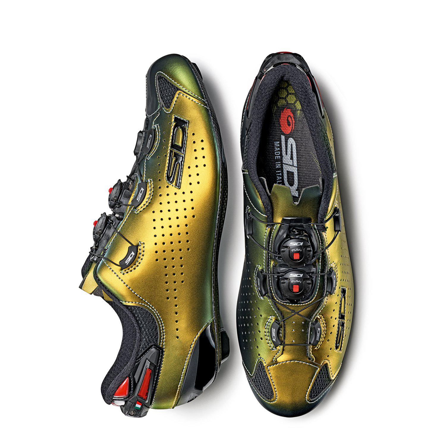 Sidi-Sidi Shot 2 – Limited Edition Gold--saddleback-elite-performance-cycling