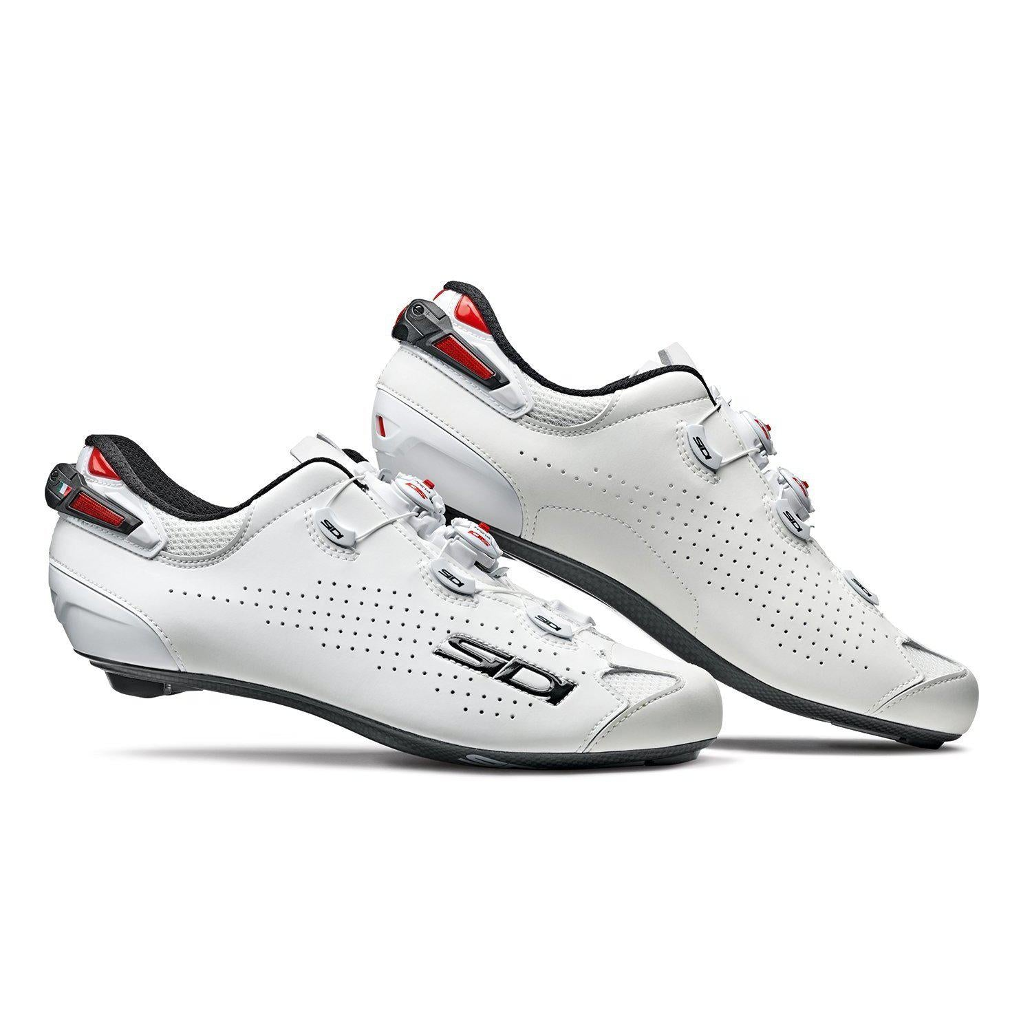 Sidi-Sidi Shot 2 Road Shoes-White/White-38-SISHOT2BIBI38-saddleback-elite-performance-cycling