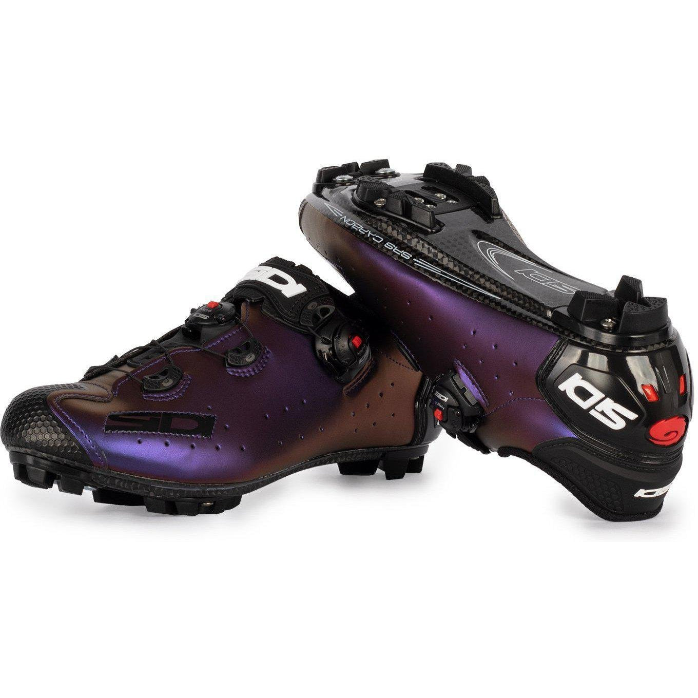 Sidi Jarin Iridescent Cycling Shoes with sole