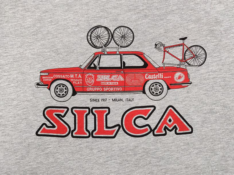 Silca-Silca 1972 BMW 2002 Team Car T-Shirt-Grey/Red-XXL-SIAMAP003ASY0600-saddleback-elite-performance-cycling