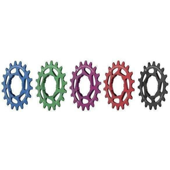 Wolf Tooth-Wolf Tooth Aluminium Single Speed Cog-Blue-17t-WTAlSSBLUCOG17-saddleback-elite-performance-cycling