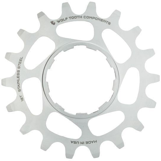 Wolf Tooth-Wolf Tooth Stainless Steel Single Speed Cog-Stainless Steel-20t-WTSSTSSCOG20-saddleback-elite-performance-cycling