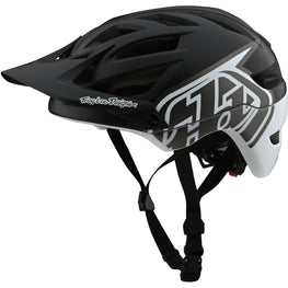 Troy Lee Designs-Troy Lee Designs A1 Classic MIPS Helmet-Classic - Black/White-M/L-TLD190111153-saddleback-elite-performance-cycling