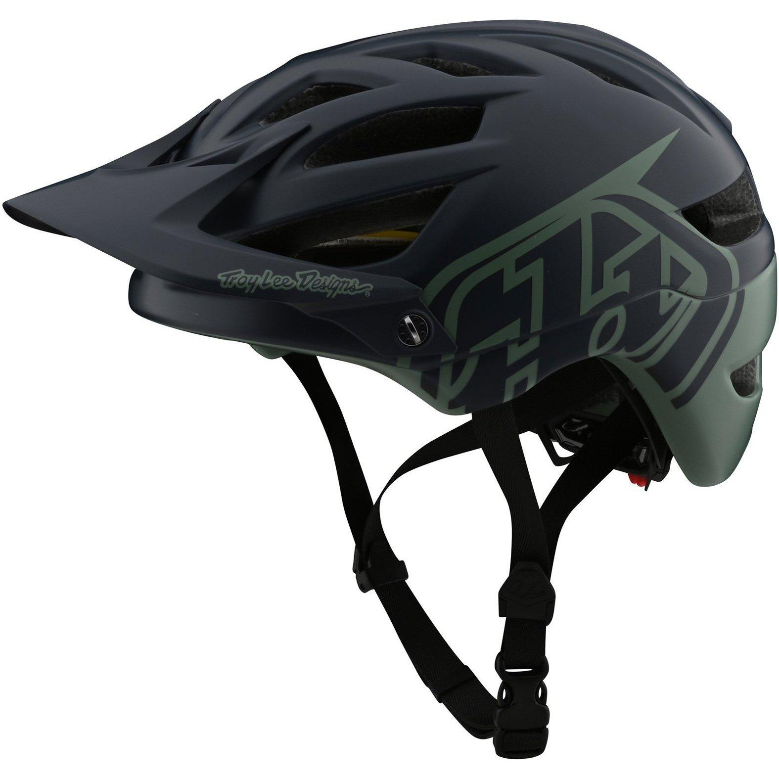 Troy Lee Designs-Troy Lee Designs A1 Classic MIPS Helmet-Classic - Navy/Seafoam-M/L-TLD190111173-saddleback-elite-performance-cycling