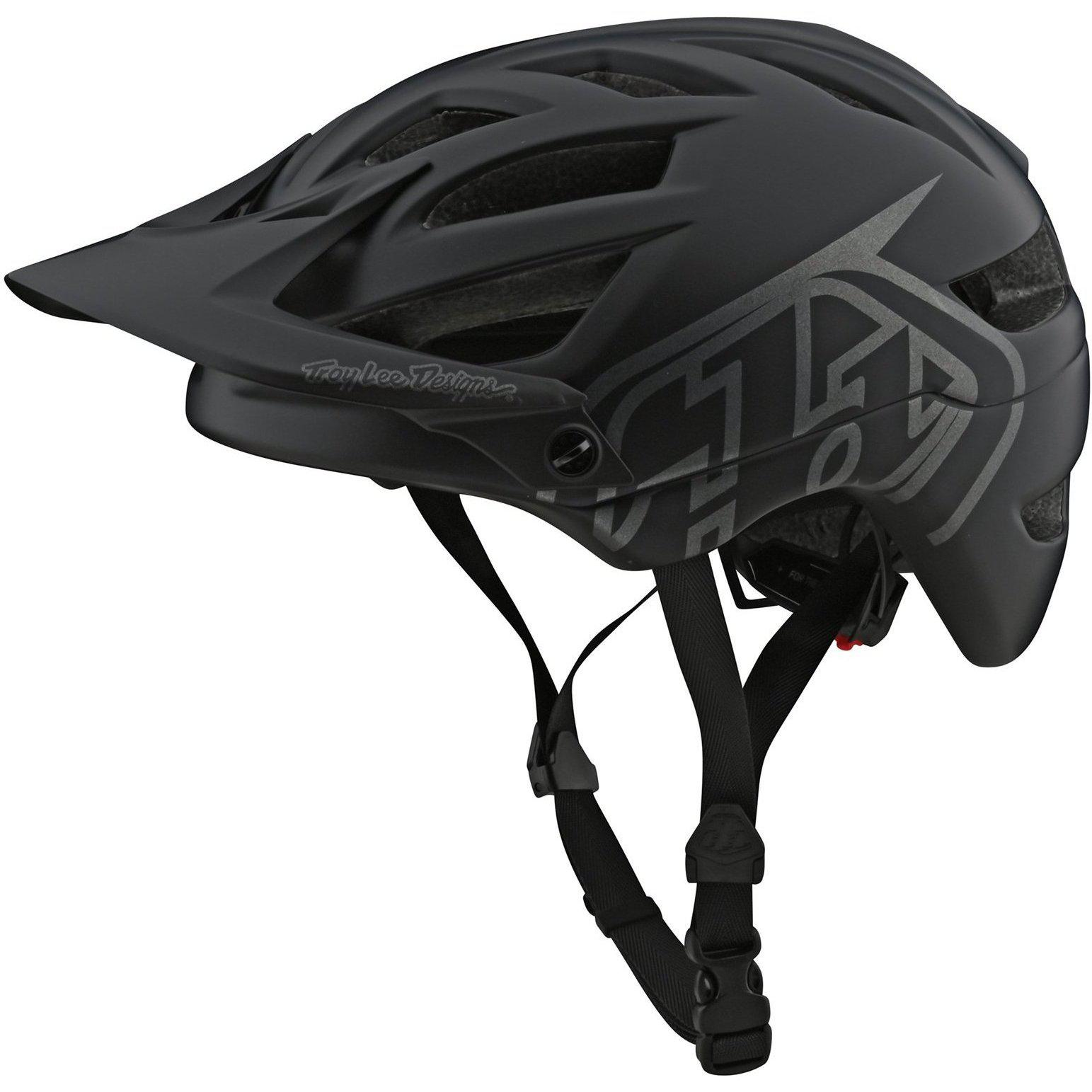 Troy Lee Designs-Troy Lee Designs A1 Drone Helmet-Drone - Black/Silver-M/L-TLD131097153-saddleback-elite-performance-cycling