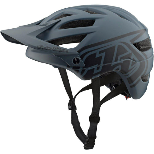 Troy Lee Designs-Troy Lee Designs A1 Drone Helmet-Gray/Dark Gray-M/L-TLD131097083-saddleback-elite-performance-cycling
