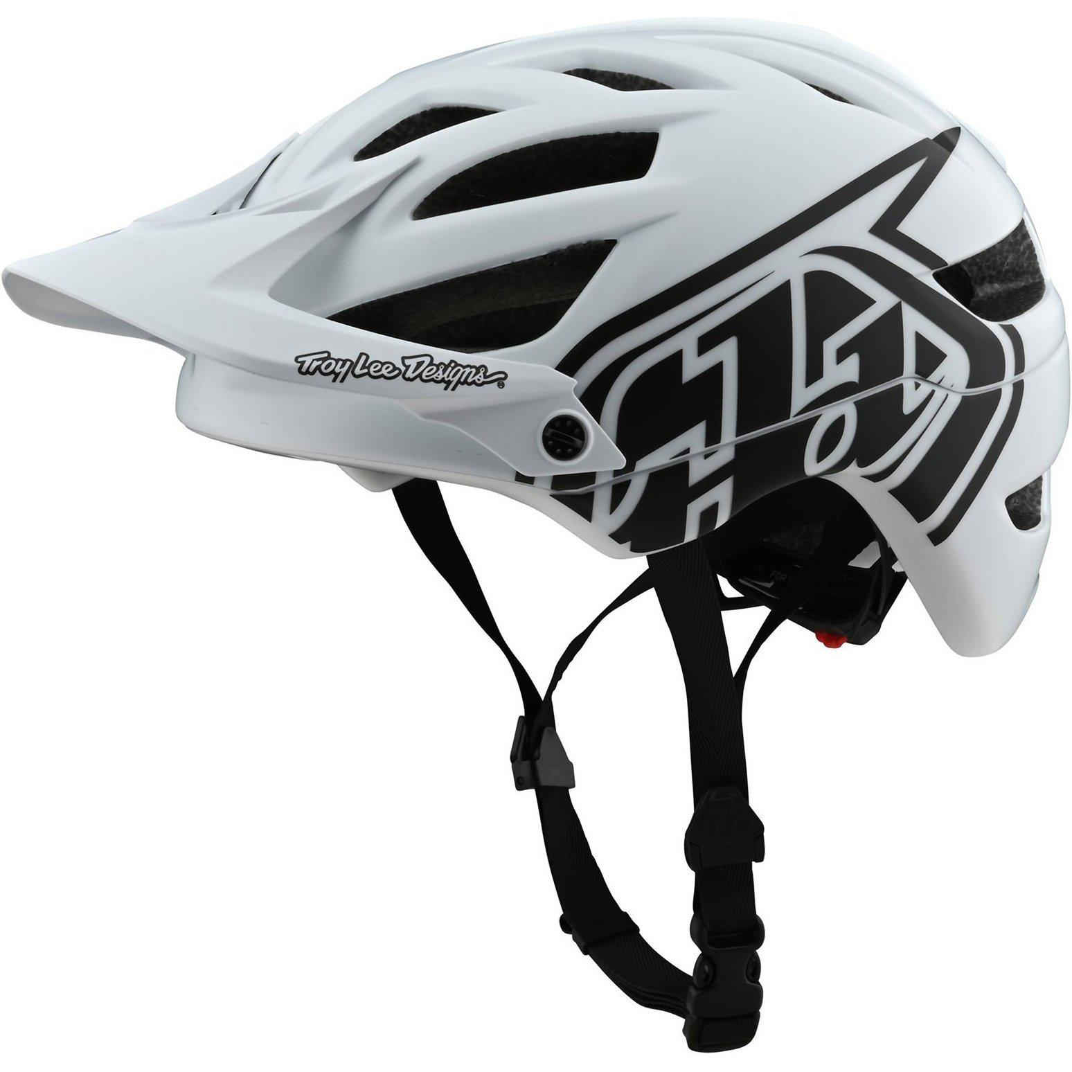 Troy Lee Designs-Troy Lee Designs A1 Drone Helmet-Drone - White/Black-M/L-TLD131097143-saddleback-elite-performance-cycling