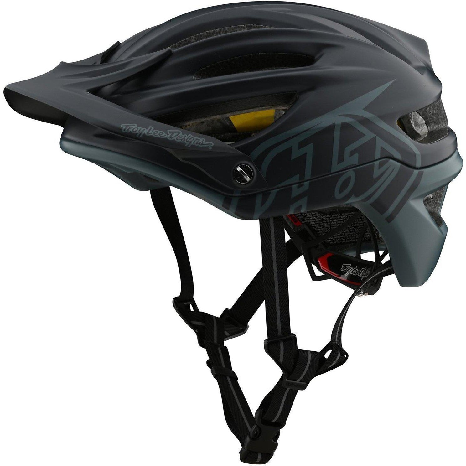 Troy Lee Designs-Troy Lee Designs A2 MIPS Helmet-Decoy - Gray/Green-M/L-TLD191485033-saddleback-elite-performance-cycling