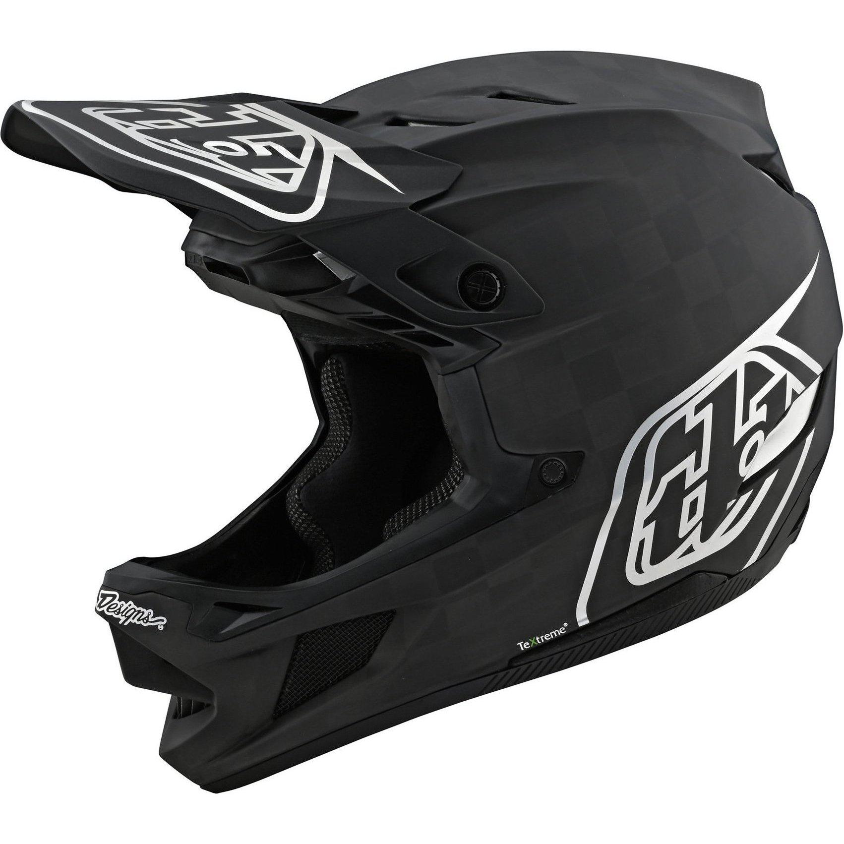 Troy Lee Designs-Troy Lee Designs D4 Carbon Helmet-Freedom 2.0 - Black/Red-L-TLD139777004-saddleback-elite-performance-cycling