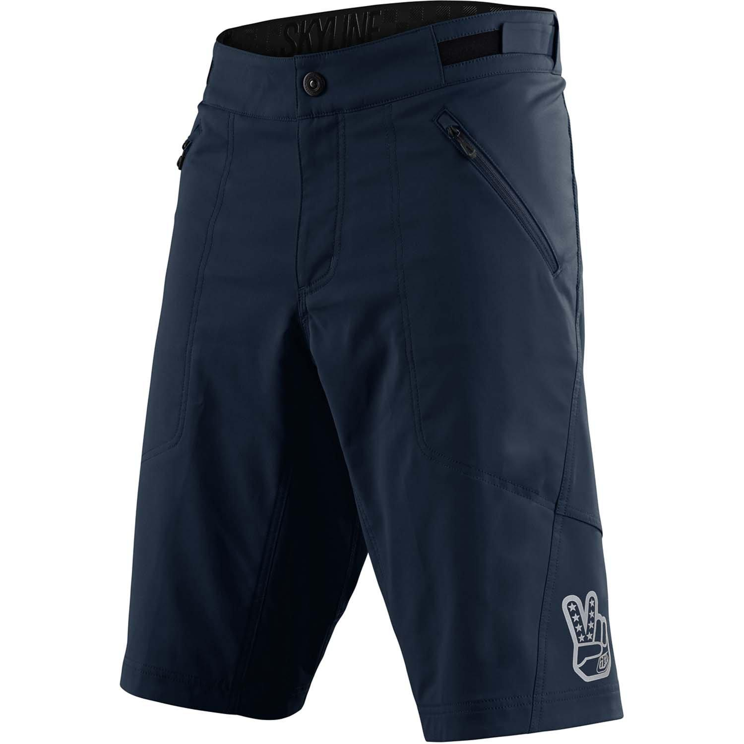Troy Lee Designs-Troy Lee Designs Skyline Youth Shorts - Shell Only-Marine-Y-22-TLD228268013-saddleback-elite-performance-cycling