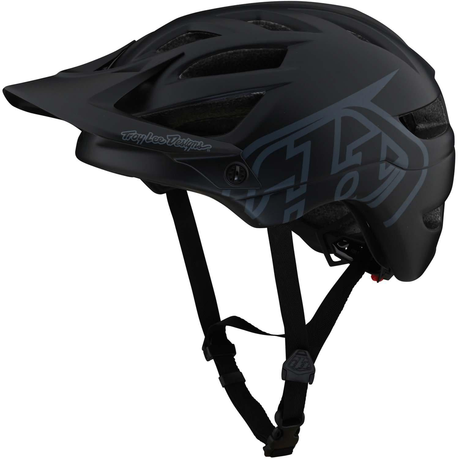 Troy Lee Designs-Troy Lee Designs A1 Drone Helmet-Black-XS-TLD131259000-saddleback-elite-performance-cycling
