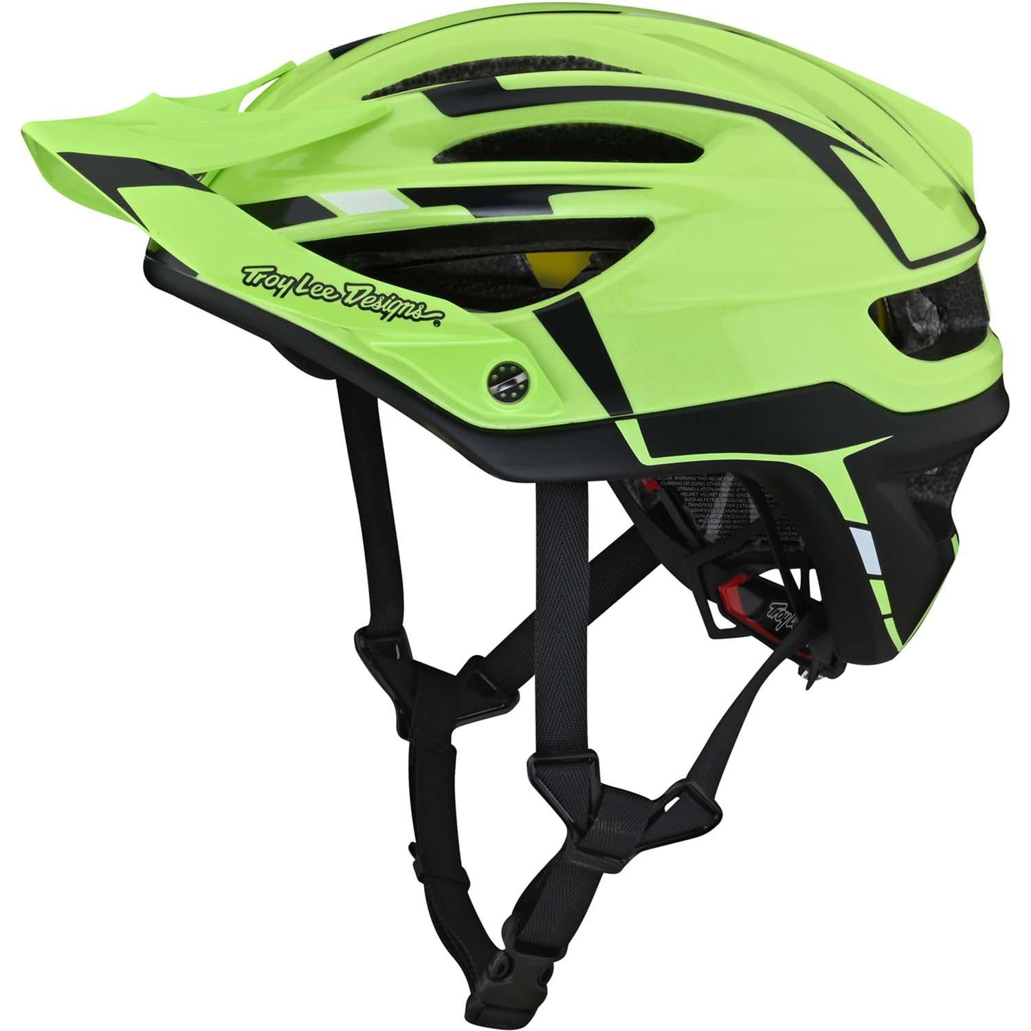 Troy Lee Designs-Troy Lee Designs A2 MIPS Helmet-Green/Gray-S-TLD132257041-saddleback-elite-performance-cycling