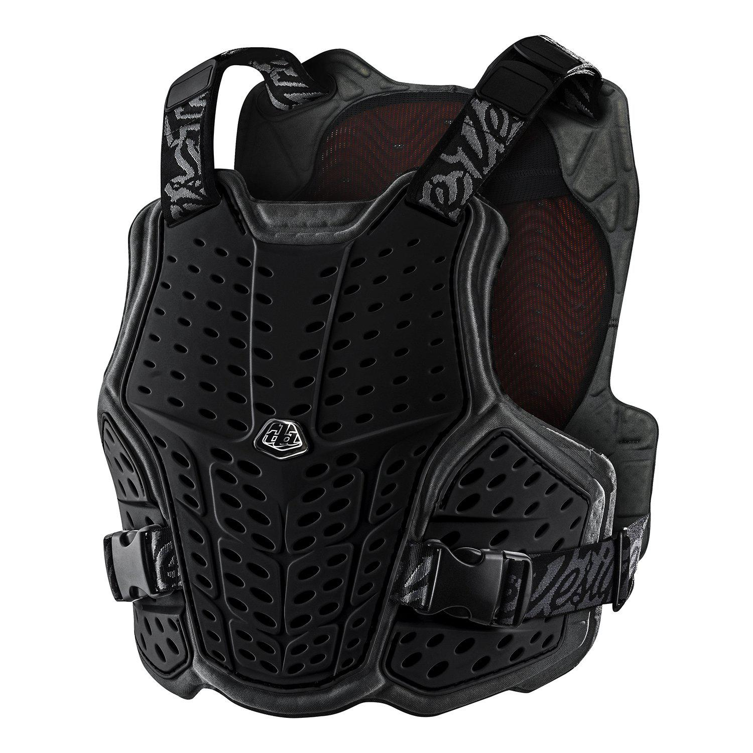 Troy Lee Designs-Troy Lee Designs Rockfight Chest Protector-Black-XS/S-TLD582003001-saddleback-elite-performance-cycling