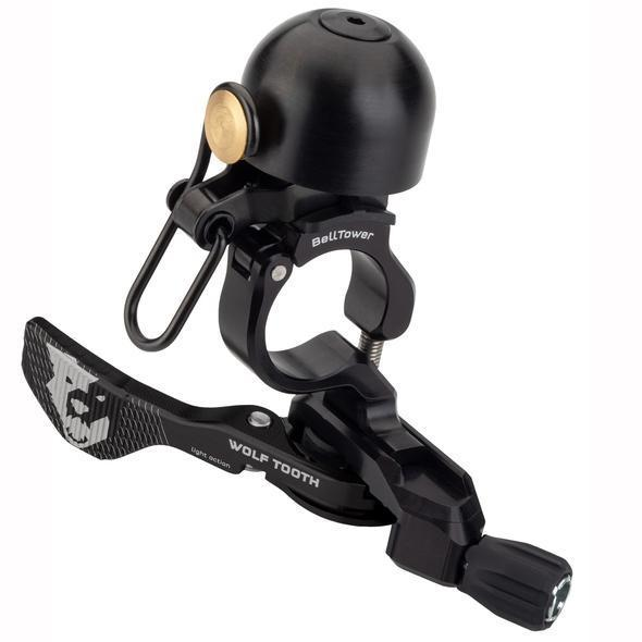 Wolf Tooth-Wolf Tooth ReMote Belltower Dropper Lever-Black-Remote Bell-WTREMOTEBELL-saddleback-elite-performance-cycling