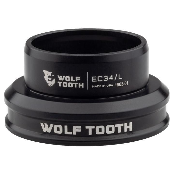 Wolf Tooth-Wolf Tooth Performance External Cup Headset-Lower EC34/30-Black-WTEC34L30BLKB-saddleback-elite-performance-cycling