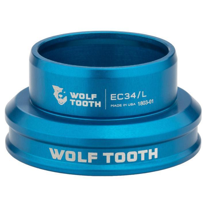Wolf Tooth-Wolf Tooth Performance External Cup Headset-Lower EC34/31-Blue-WTEC34L30BLUB-saddleback-elite-performance-cycling