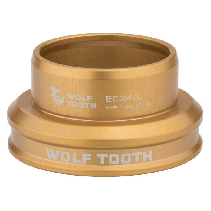 Wolf Tooth-Wolf Tooth Performance External Cup Headset-Lower EC34/32-Gold-WTEC34L30GLDB-saddleback-elite-performance-cycling