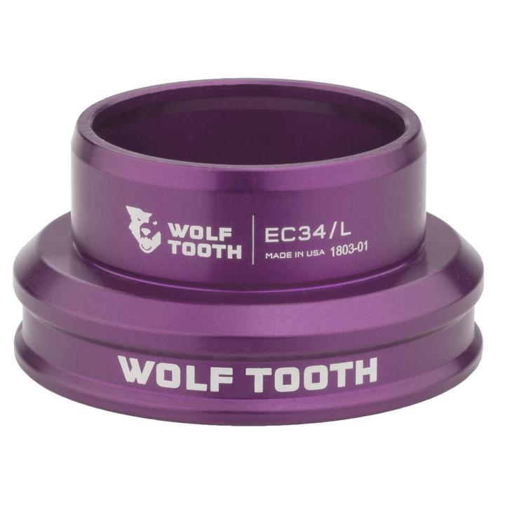 Wolf Tooth-Wolf Tooth Performance External Cup Headset-Lower EC34/36-Purple-WTEC34L30PRPB-saddleback-elite-performance-cycling
