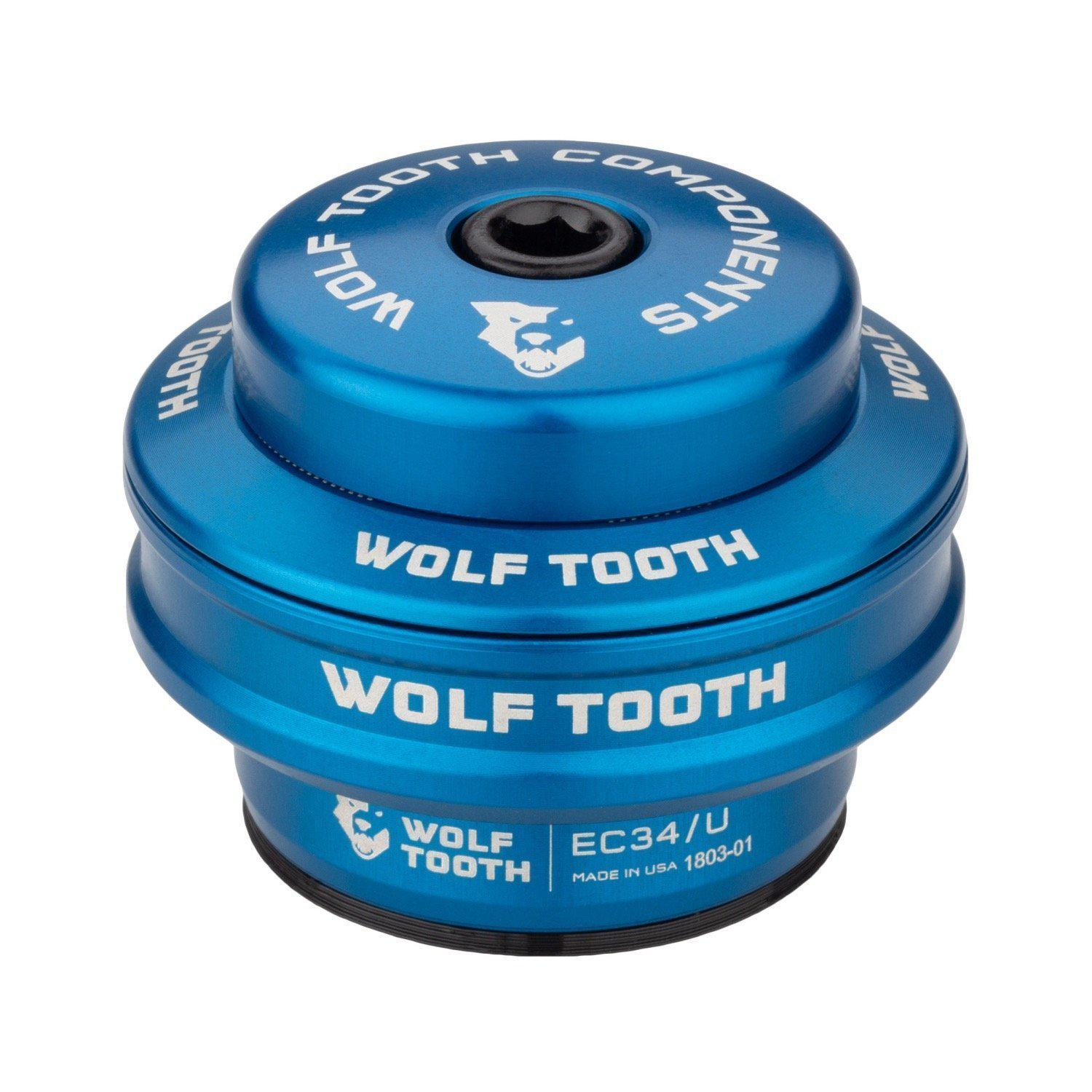 Wolf Tooth-Wolf Tooth Performance External Cup Headset-Upper EC34/28.6-Blue-WTEC34U5MMBLUB-saddleback-elite-performance-cycling