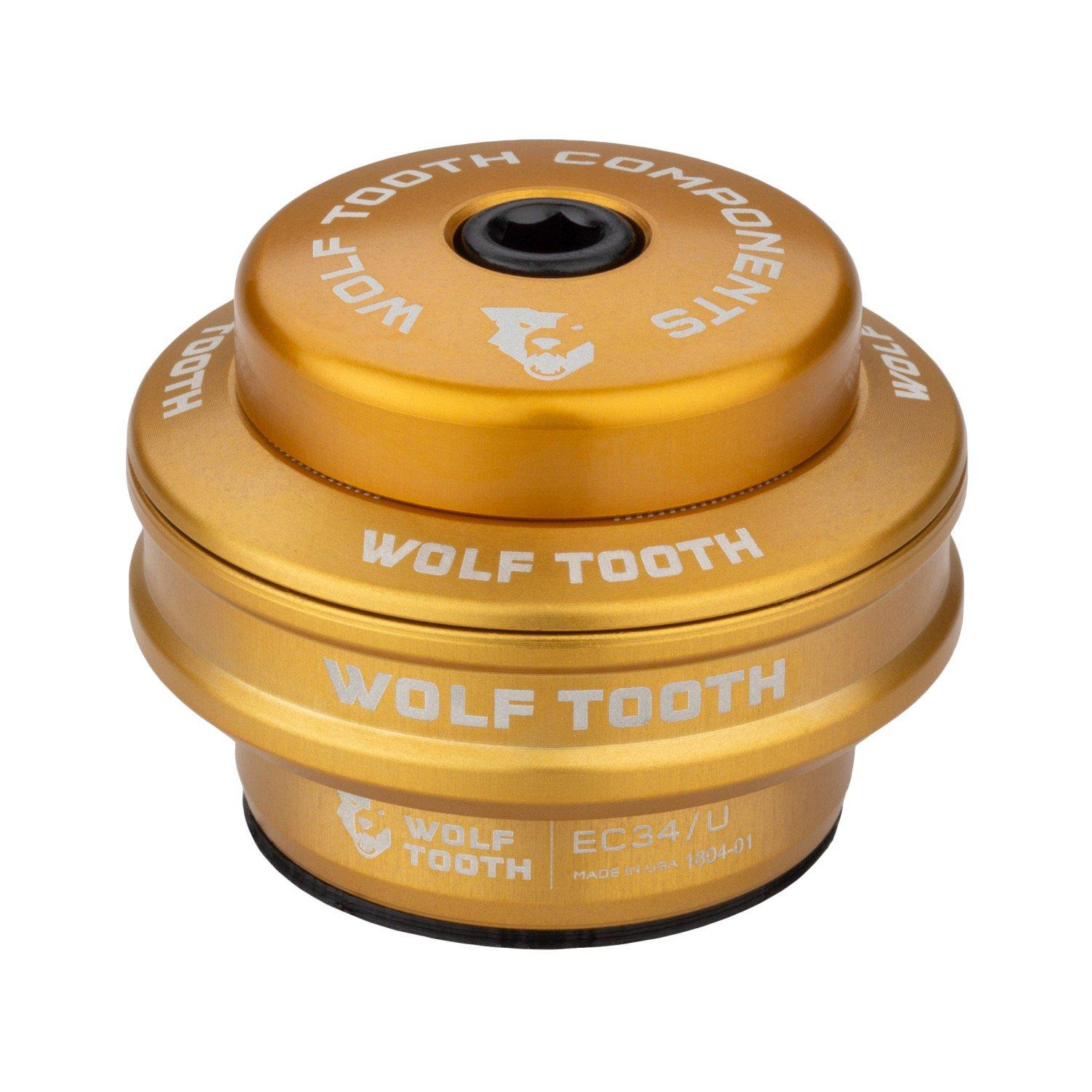 Wolf Tooth-Wolf Tooth Performance External Cup Headset-Upper EC34/28.6-Gold-WTEC34U5MMGLDB-saddleback-elite-performance-cycling