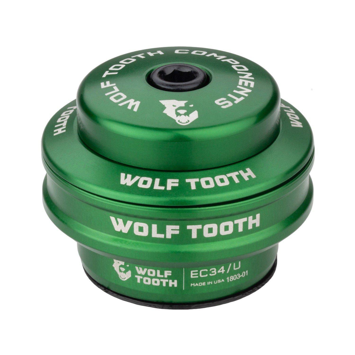 Wolf Tooth-Wolf Tooth Performance External Cup Headset-Upper EC34/28.6-Green-WTEC34U5MMGRNB-saddleback-elite-performance-cycling