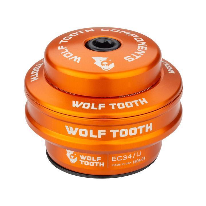 Wolf Tooth-Wolf Tooth Performance External Cup Headset-Upper EC34/28.6-Orange-WTEC34U5MMORGB-saddleback-elite-performance-cycling